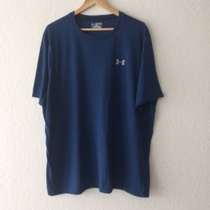 Under Armour Heatgear Loose Fit Navy Blue T-shirt